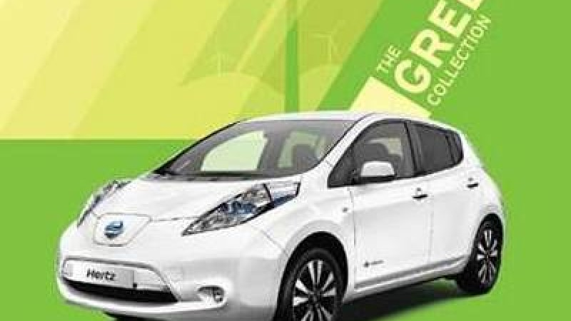 Nissan Leaf, 25 unità pronte ad entrare nella Green Collection di Hertz