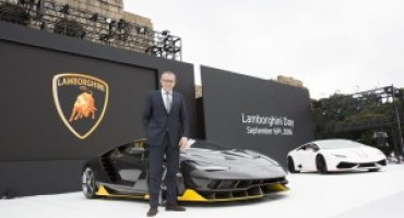 "Lamborghini presente all'evento ""Excellence in Carbon Fiber"""