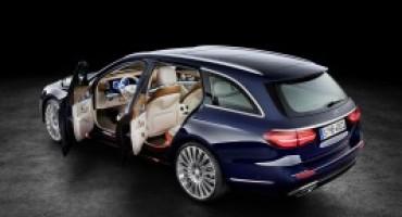 Mercedes-Benz, in autunno il lancio della nuova Classe E Station-Wagon