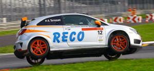 L'auto con cui Alessandra Torresani gareggia