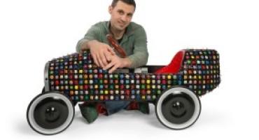 Bugatti B 35 Color Drops: un'opera d'arte by Luca Moretto