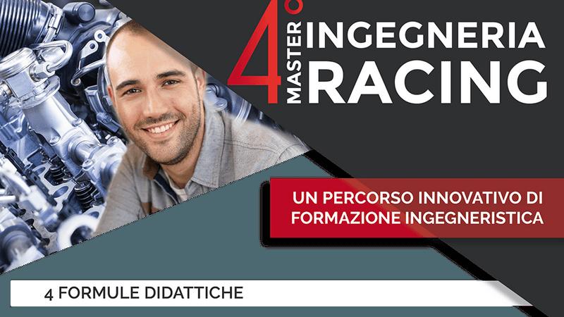 Master in Ingegneria del Veicolo da Competizione, si riparte con la quarta edizione