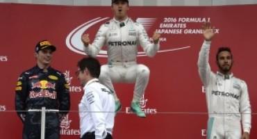 Pirelli – Formula 1, con una strategia su due soste Nico Rosberg vince in Giappone