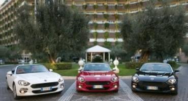 """""""124 Spider Legend Tour"""", chiuso con successo il primo raduno della roadster Fiat"""