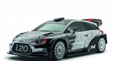 Hyundai Motorsport, al Monster Energy Monza Rally Show con la nuova sfidante WRC 2017