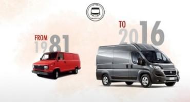 Fiat Ducato compie 35 anni