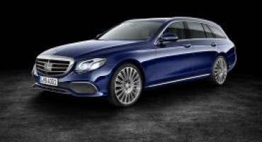 Mercedes-Benz svela la nuova Classe E SW