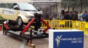 Michelin, il Villaggio per la Sicurezza Stradale fa tappa all'Università di Parma