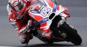 MotoGP – GP Sepang: Dovizioso stratosferico su pista bagnata, vince dopo sette anni di digiuno