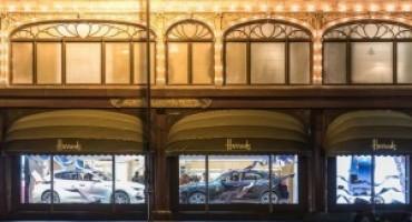 Maserati ed Ermenegildo Zegna protagonisti nelle vetrine inglesi di Harrods