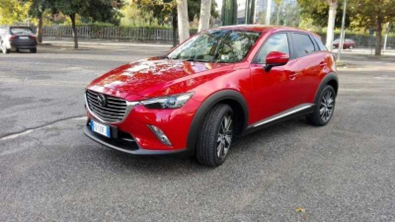 Mazda CX-3 CX-3 1.5l Skyactiv-D Exceed,  Il crossover giovane, agile e dai bassi consumi