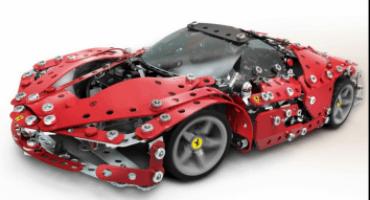 I nuovi modellini della Ferrari 488 Spider e de LaFerrari nella Scuderia Meccano