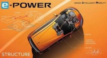 Nissan presenta il nuovo sistema di alimentazione e-POWER
