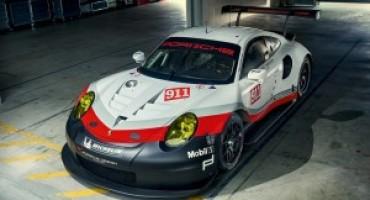 Nuova Porsche 911 RSR, pronta per la stagione 2017 la nuova GT da gara