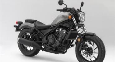 Honda svela la nuova custom CMX500 Rebel