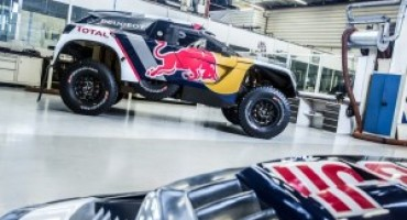 Peugeot 3008 DKR, definita la nuova livrea per l'edizione 2017 della Dakar