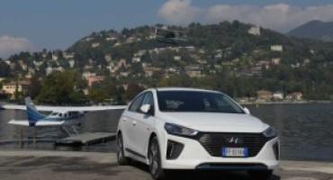 IONIQ, un temporary ad Arese per svelare l'elettrica di Hyundai