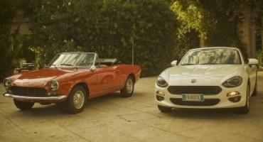Fiat 124 Spider, cinquant'anni e non sentirli