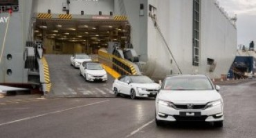 Sbarca in Europa la nuova Honda Clarity Fuel Cell