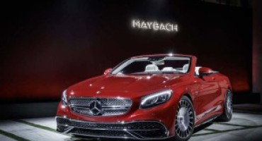 Mercedes-Maybach S 650 Cabriolet Limited Edition, solo 300 esemplari per l'esclusiva open air