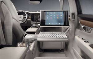 Volvo S90 Excellence interior keyboard