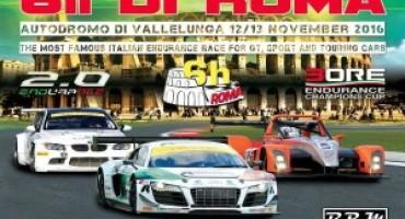 Gruppo Peroni Race, a Vallelunga lo start della XXVI edizione della 6h di Roma