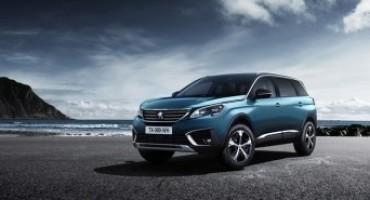 Nuova Peugeot 5008, il debutto sul mercato italiano a Marzo 2017