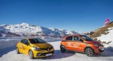 """Renault Sport sigla un accordo con la scuola di pilotaggio """"Ice Driving Val Thorens"""""""