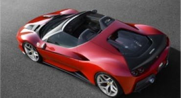 Ferrari svela in Giappone la nuova J50, la roadster prodotta in soli 10 esemplari