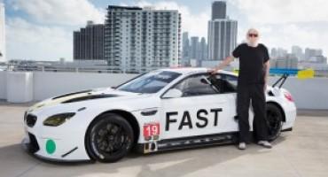 BMW presenta a Miami la nuova Art Car che correrà la 24 Ore di Daytona