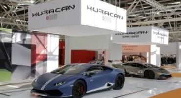 Lamborghini partecipa al Motor Show di Bologna