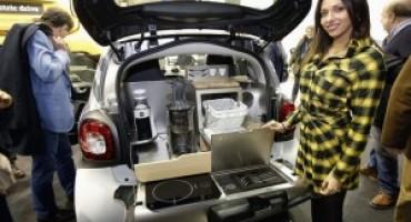 Smart presenta la 'forfood' in anteprima mondiale al Motor Show di Bologna