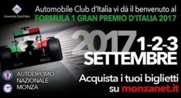 Formula 1, aperta la prevendita dei biglietti per il GP d'Italia 2017