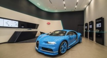 Bugatti apre un nuovo showroom a Taipei