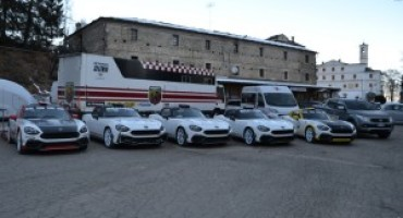 Abarth 124 Rally, pronto l'esordio all'85° Rallye di Montecarlo