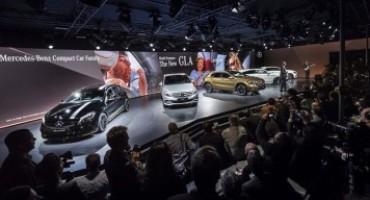 Mercedes-Benz, al Salone di Detroit 2017 una partenza in pole position