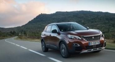 La Peugeot 3008 viene eletta SUV Business dell'anno 2017