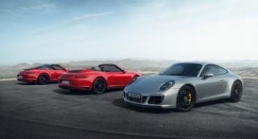 Porsche, da Marzo in listino la nuova 911 GTS