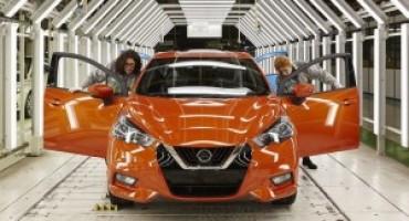 Nuova Nissan Micra, avviata la produzione nello stabilimento di Flins, in Francia