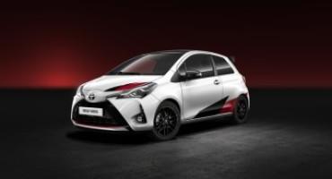 Toyota svela al Salone di Ginevra una Yaris con prestazioni monstre