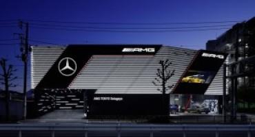 AMG Performance Center, inaugurato a Tokyo il primo showroom di nuova concezione