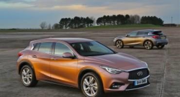 Infiniti vende nel mondo oltre 230.000 veicoli nel 2016 (+7%)