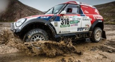 Dakar 2017 (Tappa 7): MINI ottiene il quarto posto al termine della giornata