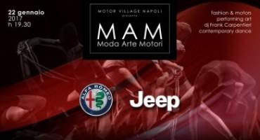 Moda, Arte, Motori: Domenica 22 Gennaio al Motor Village Napoli