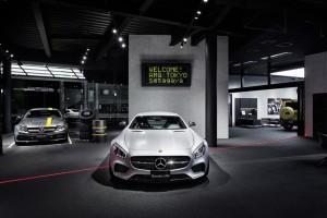 Mercedes-AMG Showroom in Tokio Setagaya