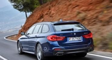 Nuova BMW Serie 5 Touring, in anteprima mondiale al Salone dell'Auto di Ginevra 2017
