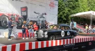 Mille Miglia 2017: saranno dieci le Mercedes-Benz al via