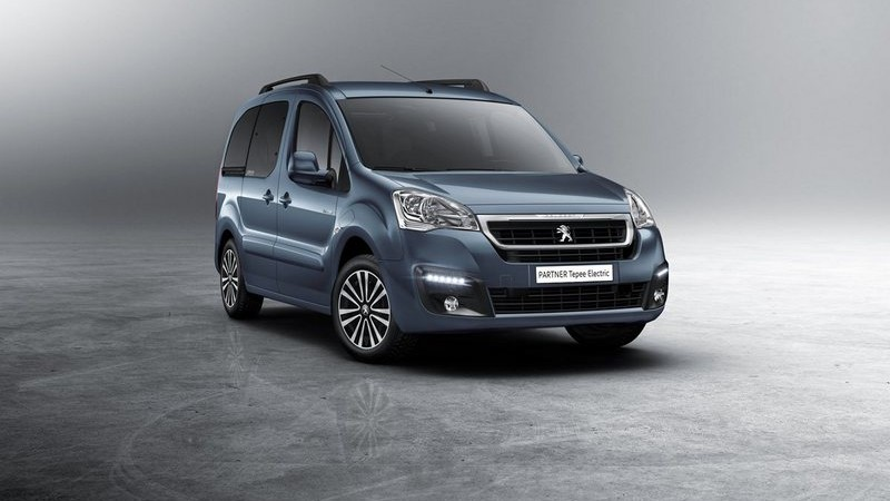 Peugeot presenta il nuovo Partner Tepee Electric