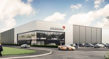 Il nuovo McLaren Automotive Composites Technology Centre