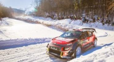 Mondiale Rally 2017, partono col piede giusto le Citroen C3 WRC